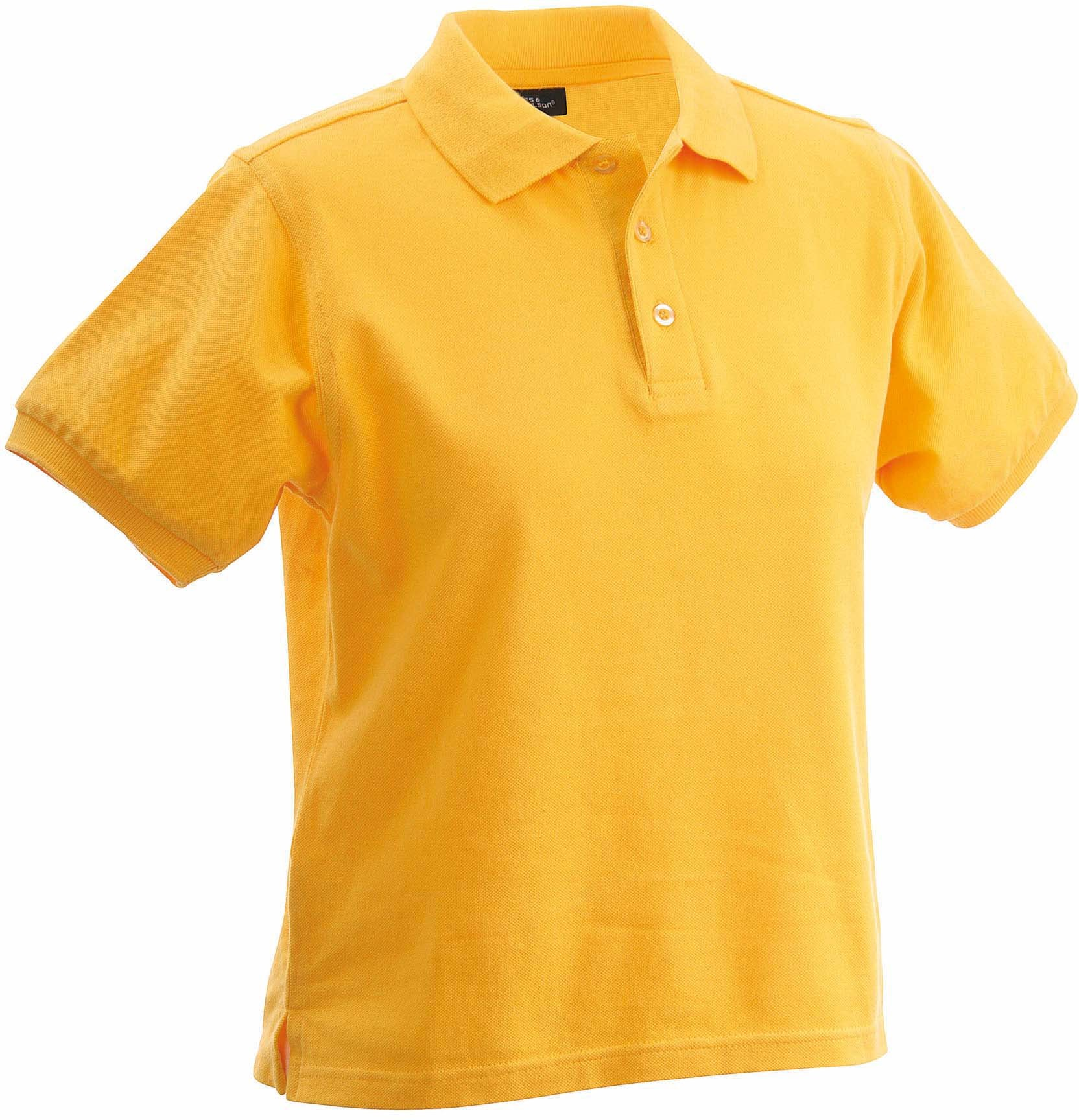 Damen-Polo-Shirt CLASSIC yellow