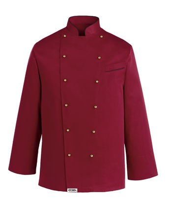 Kochjacke PAINT BORDEAUX