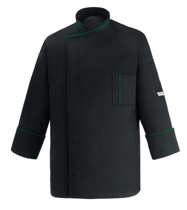 EGOCHEF Kochjacke MICROTEC ML BLACK