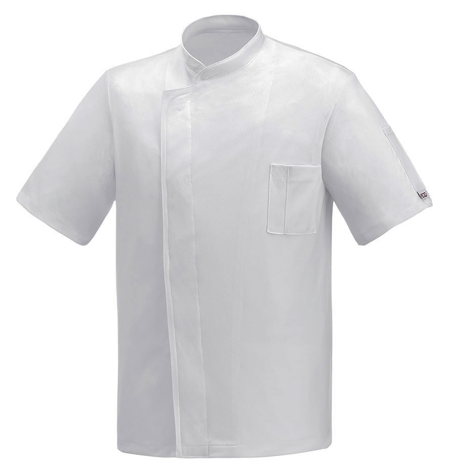 EGOCHEF Kochjacke PIZZAIOLO WHITE AIR PLUS