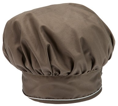 GIBLOR'S CHEF STYLE Bistro-Mütze TAUPE 2er-Pack