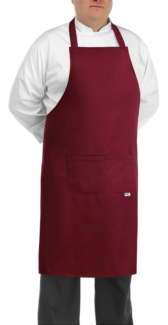 EGOCHEF BIG APRON BORDEAUX