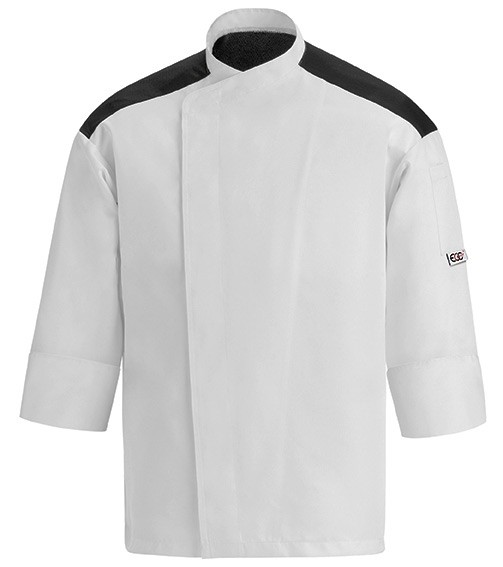 EGOCHEF Kochjacke FIRST WHITE