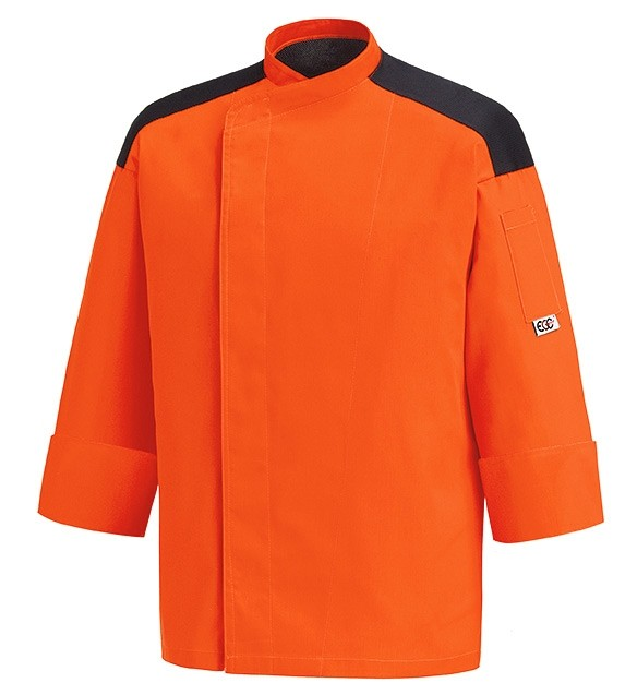 EGOCHEF Kochjacke FIRST ORANGE