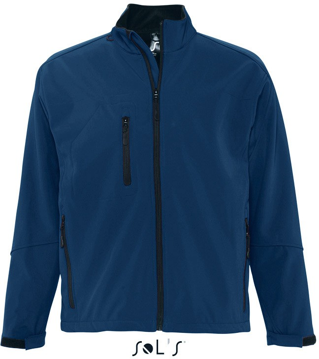 Men´s Softshell-Jacket RELAX ABYSS BLUE