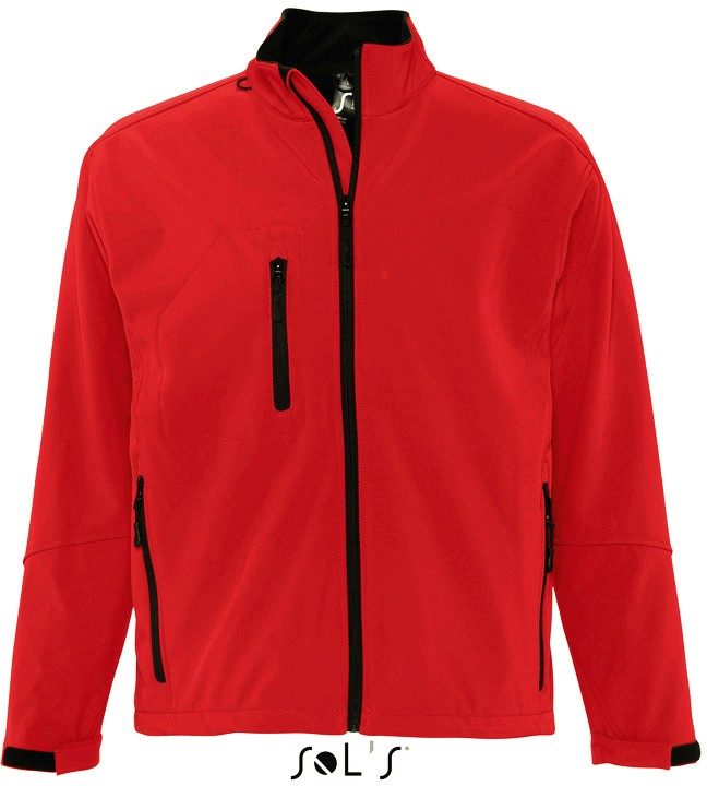 Men´s Softshell-Jacket RELAX PEPPER RED