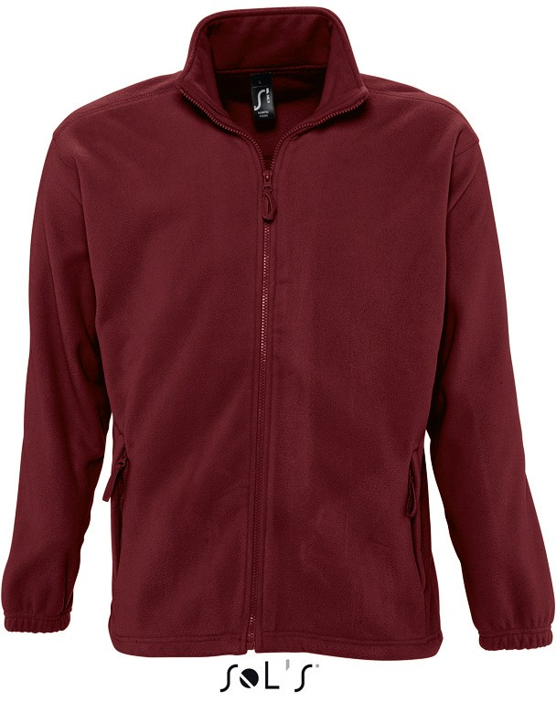 Fleece-Jacke North Men BURGUNDY
