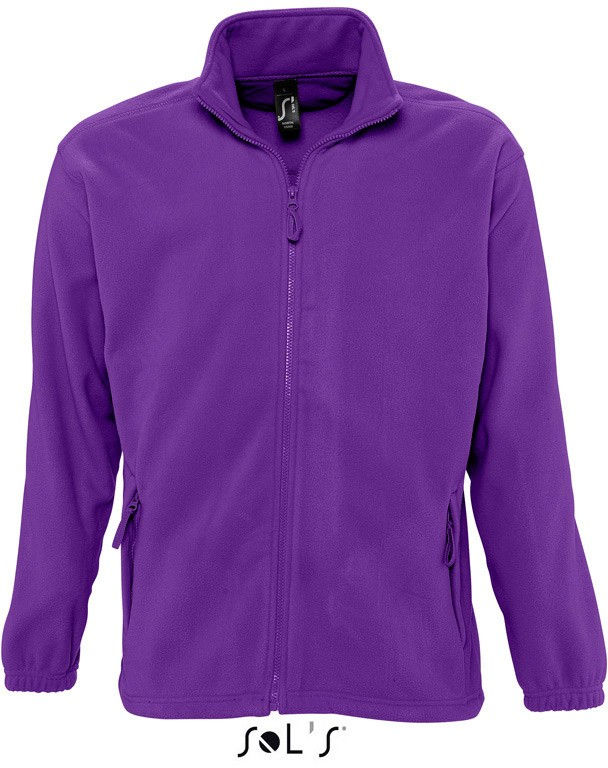 Fleece-Jacke North Men DARK PURPLE