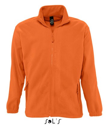 Fleece-Jacke North Men ORANGE