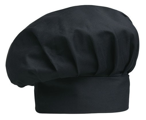 EGOCHEF Bistro-Mütze BIG BLACK 2er-Pack