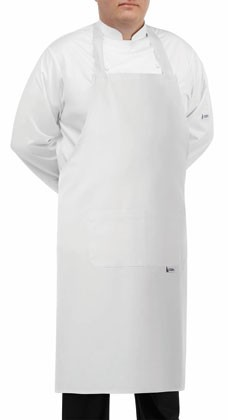 EGOCHEF BIG APRON WHITE