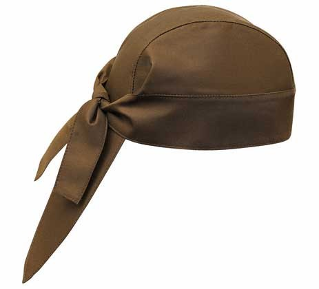 EGOCHEF Bandana BROWN 2er-Pack