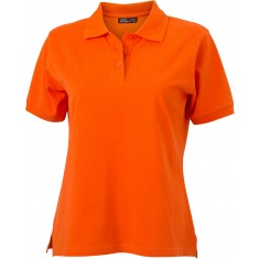 Damen-Polo-Shirt CLASSIC dark orange