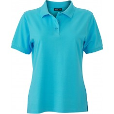 Damen-Polo-Shirt CLASSIC pacific