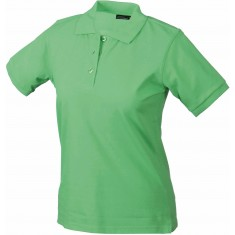 Damen-Polo-Shirt CLASSIC lime green