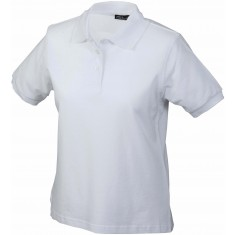 Damen-Polo-Shirt CLASSIC white