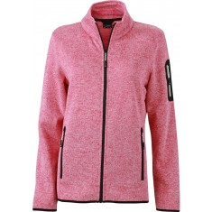 Damen Strickfleece Jacke JN761