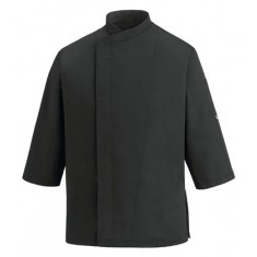 EGOCHEF Kochjacke 3/4 SLEEVES BLACK