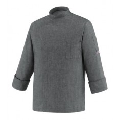 EGOCHEF Kochjacke CHEAP GREY MIX