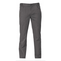GIBLOR'S CHEF STYLE Kochhose LIVERPOOL GREY STRIPE
