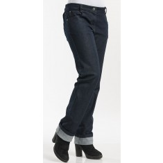 CHAUD DEVANT Damen-Kochhose LADY SKINNY BLUE DENIM STRETCH