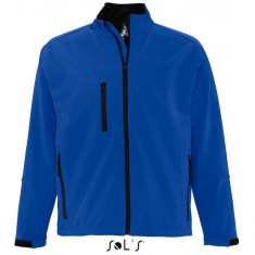 Men´s Softshell-Jacket RELAX ROYAL BLUE