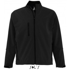Men´s Softshell-Jacket RELAX BLACK