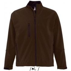 Men´s Softshell-Jacket RELAX DARK CHOCOLATE