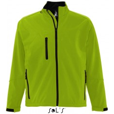 Men´s Softshell-Jacket RELAX GREEN ABSINTHE