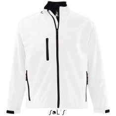 Men´s Softshell-Jacket RELAX WHITE