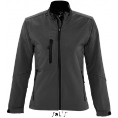 Women´s Softshell-Jacke ROXY CHARCOAL