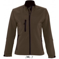 Women´s Softshell-Jacke ROXY DARK CHOCOLATE