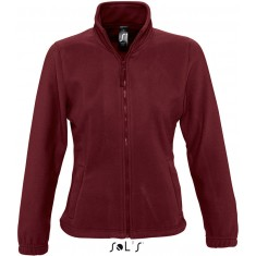 Fleece-Jacke North Women BURGUNDY