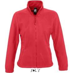 Fleece-Jacke North Women RED
