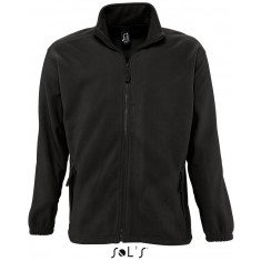 Fleece-Jacke North Men BLACK