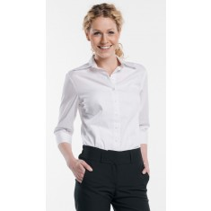 CHAUD DEVANT Bluse WOMEN WHITE STRETCH