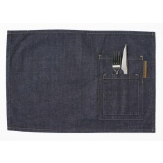 CHAUD DEVANT Placemat BLUE DENIM 2er-Pack