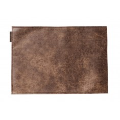 CHAUD DEVANT Placemat LEDER BARREL BROWN 2er-Pack