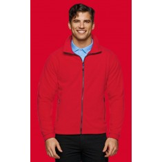 HAKRO Herren Fleece-Jacke LANGLEY
