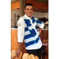WILD CHEF Kochjacke Wild Greece Batik
