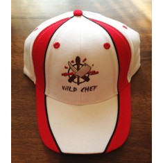 WILD CHEF Base Cap white/red/black