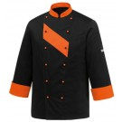 EGOCHEF Kochjacke PATCH ORANGE