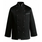 EGOCHEF Kochjacke BLACK BIG JACKET